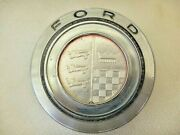 1970 Ford Torino Ranchero Grille Emblem D00b-8216-e With Retainer Backing Plate
