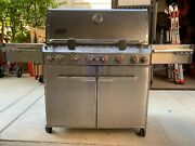 Weber Summit S-670 6-burner Propane Gas Grill Stainless Steel
