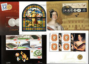 2003 Portugal, Azores, Madeira Complete Year Mnh. 16 Souvenir Sheets, Blocks.