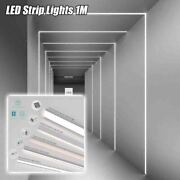 Led Strip Lights 1m Dc 24v 4w/m Wall Ceiling Recessed Cabinet Lighting Home Hall