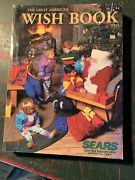 Vintage Sears 1992 Wish Book Christmas Catalog Old Toys Gifts Home Decor