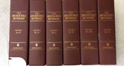The Anchor Bible Dictionary Volumes 1-6 By David Noel Freedman, 1st Ed., 1992