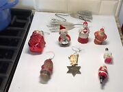 Antique Christmas Ornaments Lot Of 10