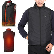 Usb Electric Winter Heated Warm Vest Men Women Heating Coat Jacket Clothing Coat