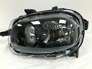 Fits Vw Polo Headlamp Black/red Gti Models Left Hand 2018-