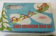 Boxed Set Of Vintage Christmas Lights. Tohwalite. Box Is 12x8 With 18 Lights.
