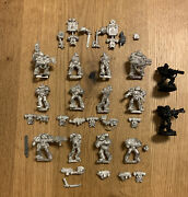 Warhammer 40k - Space Marines - 14x Legion Of The Damned Incl. 2 Sergeants