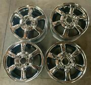 1997 Ford Contour Wheels / Rims 15 Inch Hollander 3212 Chrome Used