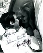 George Lazenby And Catherine Schell Signed Autographed James Bond 007 Photo