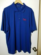 1 Nwt Cutter And Buck Menand039s Polo Size X-large Color Navy J124