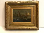 Dutch 18th Century Painting On Board