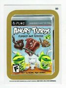 2013 Wacky Packages All-new Series 11 Ans11 Gold Border Card 50 Angry Turds