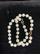 """Costume 2 Piece Faux 8mm Pearl 7"""" And 8"""" Bracelets"""