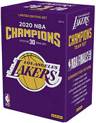 Los Angeles Lakers 2020 Nba Finals Champions Panini 30 Card Team Set Sold Out