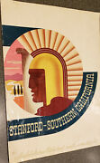 1934 Stanford Indians And Usc Trojans Football Program