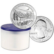 2014 Atb Smoky Mtn Silver 5 Oz 25c - Bu - 10 Coins In Mint-issued Tube