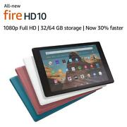 Fire Kindle Hd 10 Tablet All New 9th Generation 32 Gb Andndash Twilight Blue