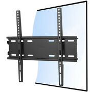 Fixed Tv Bracket Flat Panel Tv Wall Mount Solid Steel Frame Universal For 22-50