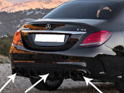 Amg C43 Facelift Diffuser And Exhaust Tailpipes Package W205 S205 Berlina Estate