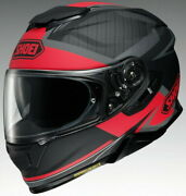 Shoei Motorcycle Full Face Helmet Gt-airii Affair Tc-1 Red/black Xl L New F/s