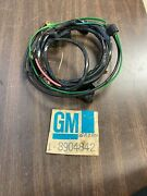 1972 Chevy G Van 6 Cylinder Starting Ignition Wiring Loom Harness Nos Gm 1020