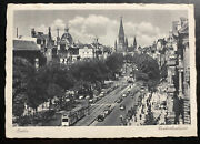 1941 Berlin Germany Rppc Postcard Cover To Tirol Italy Chinese Writing