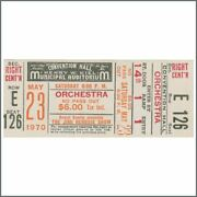 Jimi Hendrix 1970 St Louis Cancelled Concert Ticket Usa