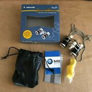 Meade 3x25mm Opera Glasses With Built In Led Reading Light Binoculars 91004lf
