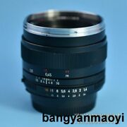Zeiss Planar T 50/1.4 Zf.2a Very Little Scratch On Front Lens Ship By Dhl Ems