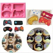 Game Controller Mold Silicone Candy Chocolate Cake Decoration Resin Clay