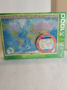 1000 Piece Jigsaw Puzzle Map Of The World