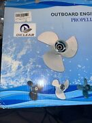 13 1/4 X17 | 48-77344a45 Aluminum Outboard Propeller Fit Mercury Engines 60-125