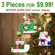 Diy Personalized Christmas Ornament 2020 Christmas Hanging Ornaments Family Gift