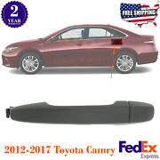 Rear Left Or Right Side Exterior Door Handle Primed For 2012-2017 Toyota Camry