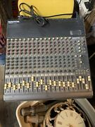 Mackie Cr1604-vlz 16-channel Mic/line Mixer Untested No Returns As-is 📦 L👀k