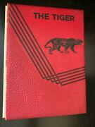 Cleburne County High School Yearbook 1962 The Tiger 62 Marion Ohio Oh