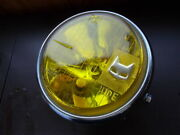Honda Motorcycle Custom Parts Period, Marchal 712 Yellow Driving Lenses Monkey