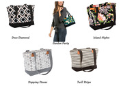 Thirty One Demi Day Tote Bag Purse 31 Gift New Cute More Prints