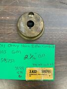 1941 Chevy Steering Wheel Horn Button Contact Plate Nos Gm 1020
