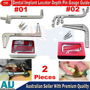 Orthodontic Dental Surgical Implant Locator Parallel Guide Pin Drilling Gauges