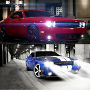 For Dodge Challenger 2015-2019 - 2pc 6500k Led Headlight Kit High/low Beam Bulbs