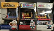 My Arcade Mappy And Bad Dude Micro Player Retro Arcade Systems | Brand New