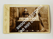 Antique Cabinet Card Photo Music Water Harp Xylophone Howie Detroit Michigan