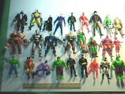 25 Premium Action Figures- Heroes And Villains