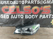 2013 2014 2015 Bmw 7 Series Left Xenon Headlight Oem For Parts Only