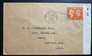 1940 Whitstable England Censored Cover To Bronx Ny Usa