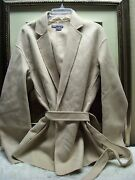 Vince Wrap Jacket - Belted Easy Size S 495