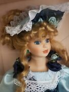 Rare Collectible Memories Edition Vintage Handcrafted Porcelain Doll Sandra