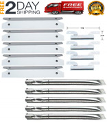 Brinkmann Gas Grill Parts Heat Plate Shield, Burner And Carry-over Tubes Kit New