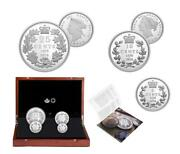 Canada - 2020 And039first National Coinageand039 Set Of 4 Oversized Silver Coins 7.5 Oz
